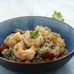 Buckwheat Salad with Prawns Recipe