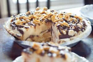 Chocolate Peanut Butter Banana Ice Cream Pie Recipe