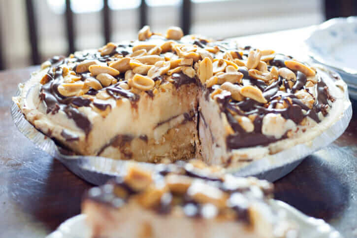Chocolate Peanut Butter Banana Ice Cream Pie Recipe
