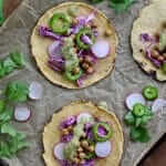 Cumin Chickpea Tacos Recipe