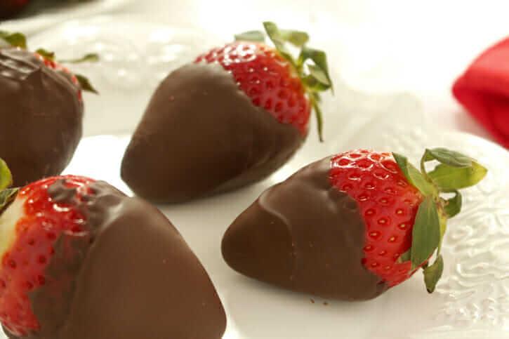 Dark Chocolate-Covered Strawberries Recipe