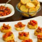Fresh and Toasty Summer Bruschetta Bites Recipe