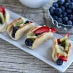 Fruit Pizza Tacos Recipe