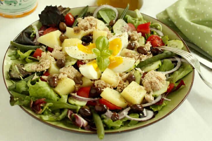 Mediterranean Summer Salad Recipe