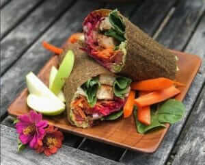 Spicy Vegan Wraps Recipe