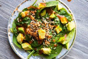 Avocado Quinoa Tossed Salad Recipe
