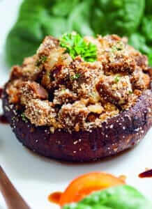 Stuffed Portobello Mushroom Caps Recipe