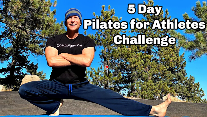 5-Day Pilates for Athletes Challenge