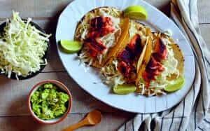 Brown Sugar Chili Salmon Tacos Recipe