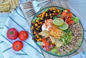 Tex Mex Burrito Bowl Recipe