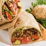 Walnut Fiesta Burrito Recipe