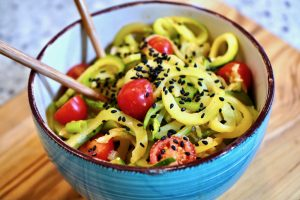 Thai Sauce with Zoodles Recipe