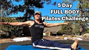 5-Day Full Body Pilates Challenge