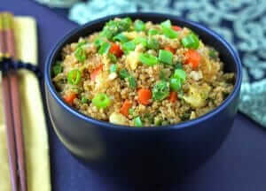 "Quinoa Fried ""Rice"" Recipe"