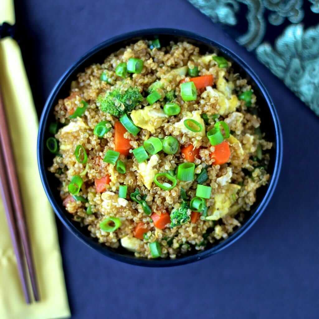 quinoa fried rice 02